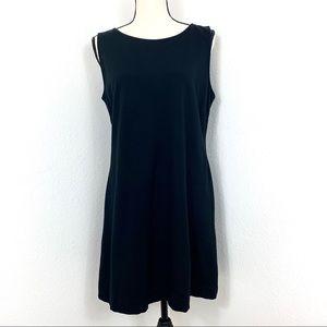 Taylor Sleeveless Mini Dress Black Size 14
